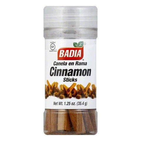 Badia Cinnamon Sticks, 1.25 OZ (Pack of 8)