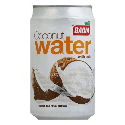 Badia Coconut Water with Pulp, 10.5 OZ (Pack of 24)