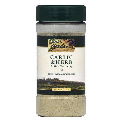 Olive Garden Garlic & Herb Italian Seasoning, 4.5 OZ (Pack of 6)