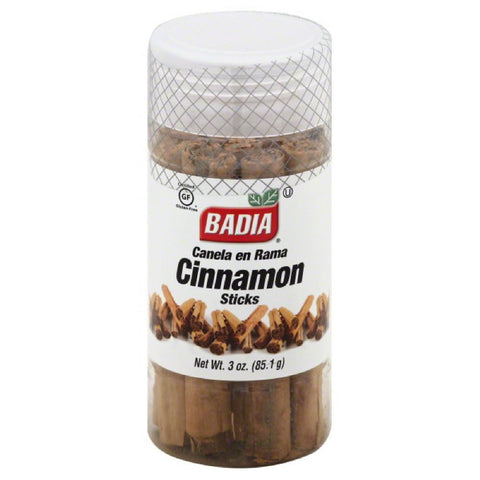 Badia Sticks Cinnamon, 3 Oz (Pack of 12)