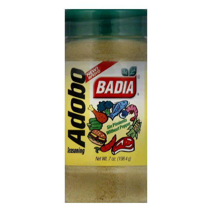 Badia Adobo without Pepper, 7 OZ (Pack of 12)