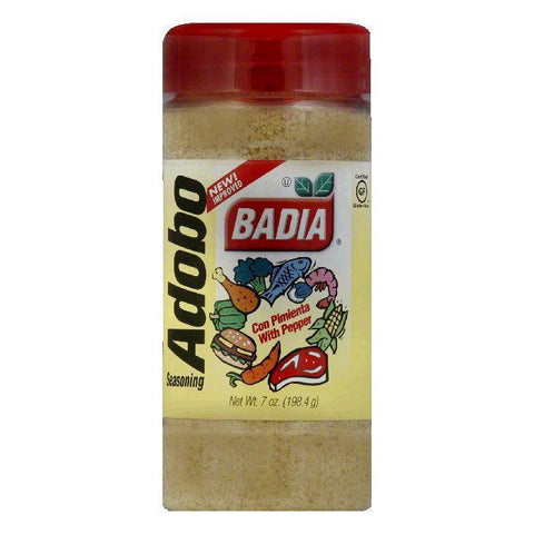 Badia Adobo with Pepper, 7 OZ (Pack of 6)