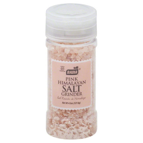 Badia Pink Himalayan Salt Grinder, 4.5 Oz (Pack of 12)