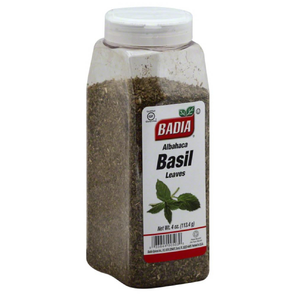 Badia Basil Leaves, 4 Oz (Pack of 6)