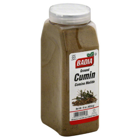 Badia Ground Cumin, 16 Oz (Pack of 6)