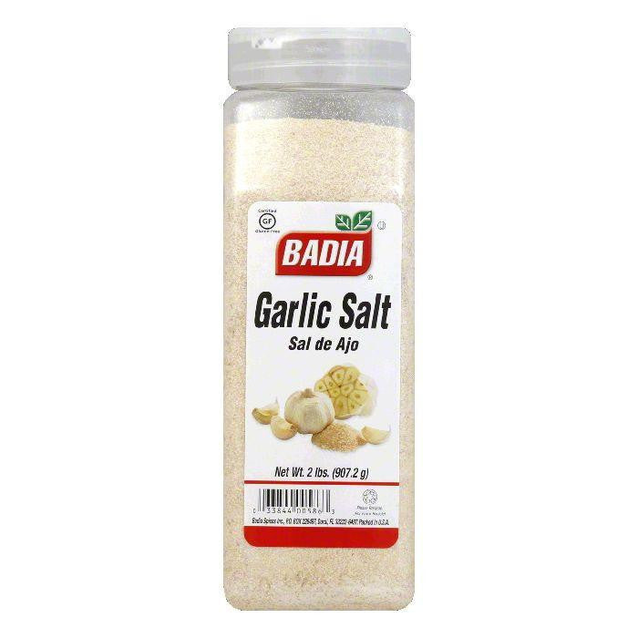 Badia Garlic Salt, 32 OZ (Pack of 6)