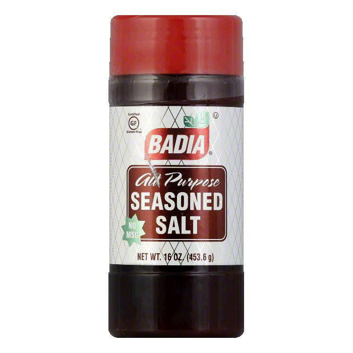 Badia Seasoned Salt, 16 OZ (Pack of 12)