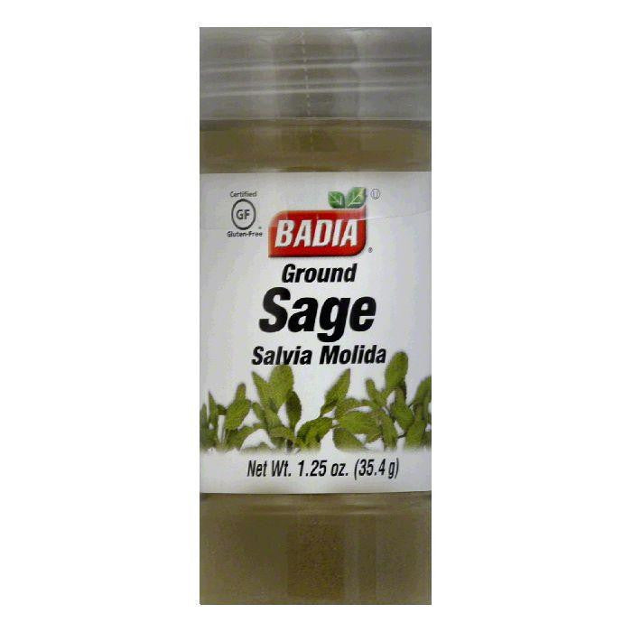 Badia Sage Ground, 1.25 OZ (Pack of 12)