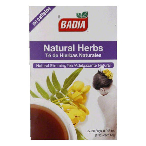 Badia Natural Herbs Tea, 25 ea (Pack of 10)