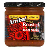 Arriba Medium Red Salsa, 16 OZ (Pack of 6)