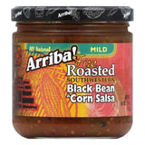 Arriba Arriba Black Bean And Corn Salsa, 16 OZ (Pack of 6)