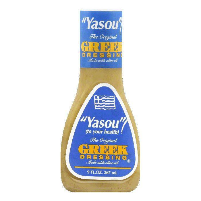 Ken's Yasou Greek Dressing, 9 OZ (Pack of 9)