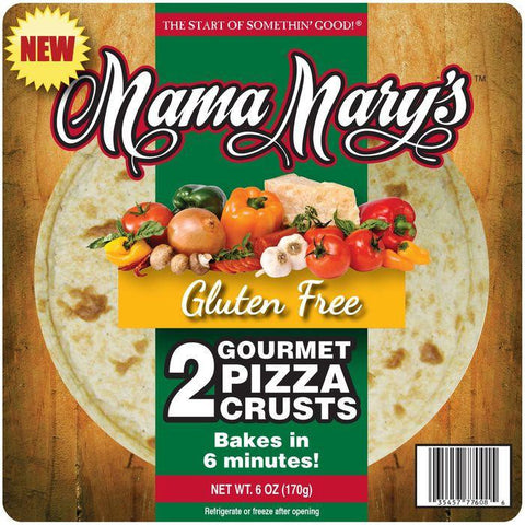 Mama Mary's Gluten Free Pizza Crusts 2 ct. Pack (Pack of 8)