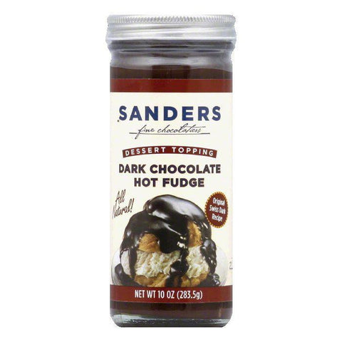 Sanders Swiss Chocolate Topping, 10 OZ (Pack of 6)