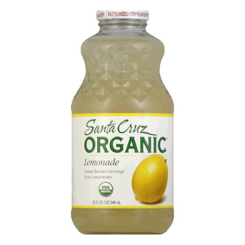 Santa Cruz Organic Lemonade Juice, 32 OZ (Pack of 12)