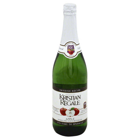 Kristian Regale Apple Sparkling Juice Beverage, 25.4 Fo (Pack of 12)