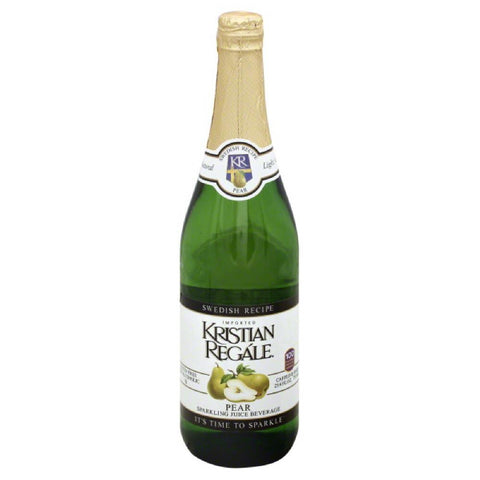 Kristian Regale Pear Sparkling Juice Beverage, 25.4 Fo (Pack of 12)
