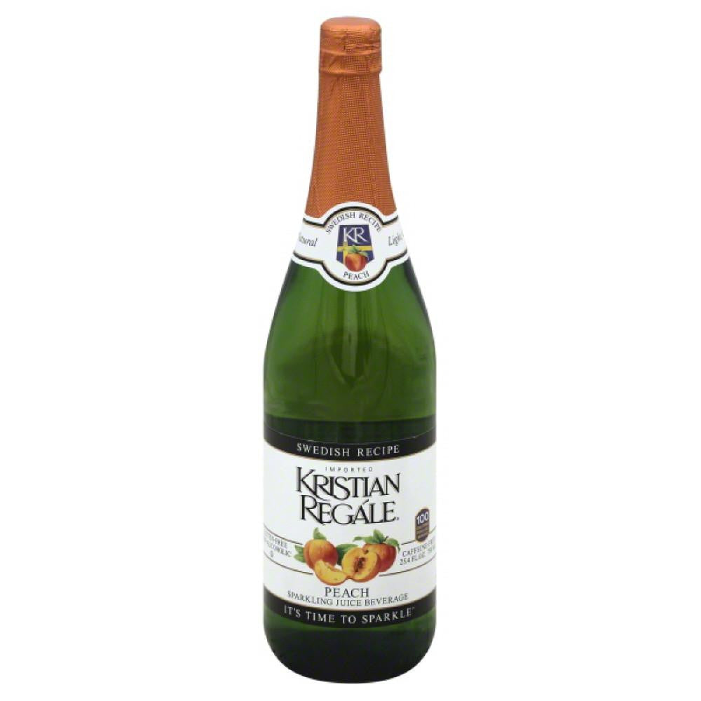 Kristian Regale Peach Swedish Recipe Sparkling Juice Beverage, 25.4 Fo (Pack of 12)
