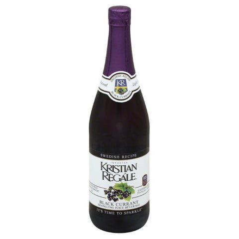 Kristian Regale Black Currant. Swedish Recipe Sparkling Juice Beverage, 25.4 Oz (Pack of 12)