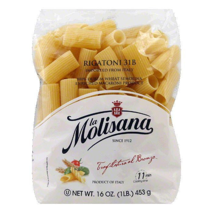 La Molisana Rigatoni Bronzo, 16 OZ (Pack of 12)