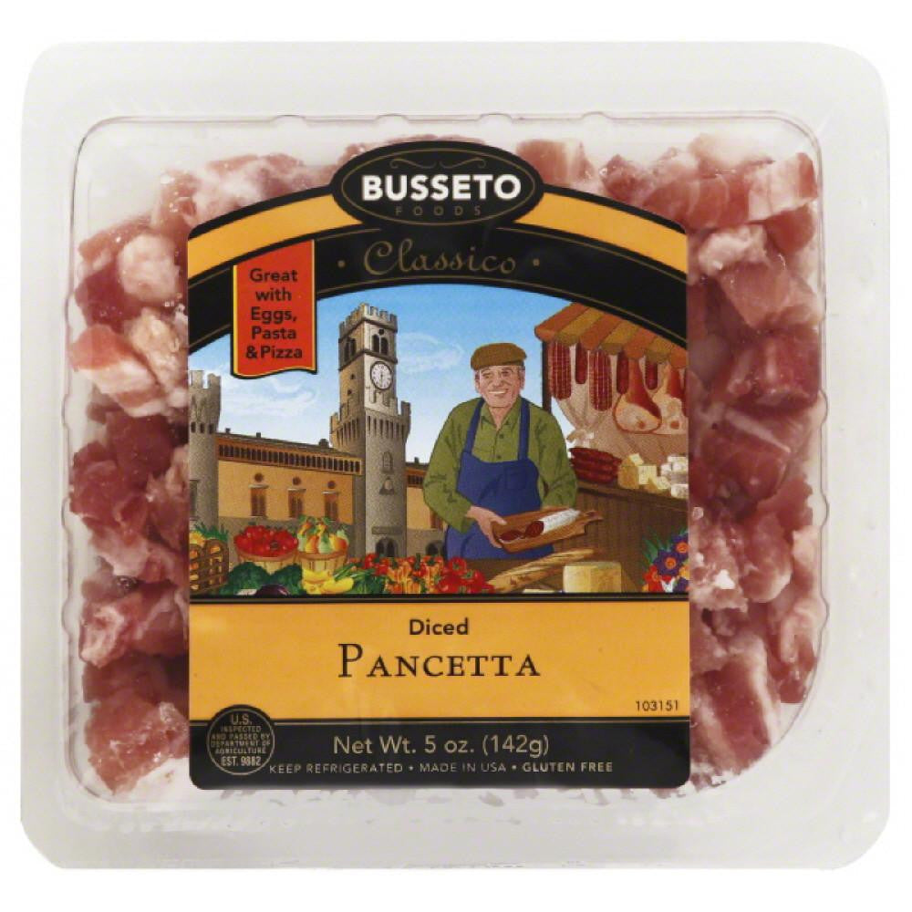 Busseto Diced Pancetta, 5 Oz (Pack of 12)