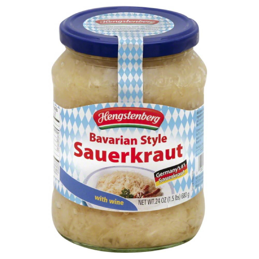 Hengstenberg Bavarian Style Sauerkraut, 24.3 Oz (Pack of 12)