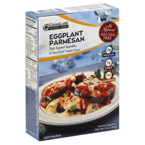 Cedar Lane Eggplant Parmesan with Roasted Vegetables & Sun-Dried Tomato Sauce, 10 Oz (Pack of 12)