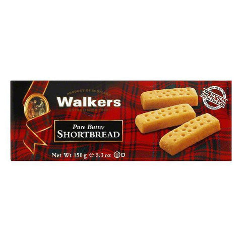 Walkers Shortbread Traditional Fingers, 5.3 OZ (Pack of 12)