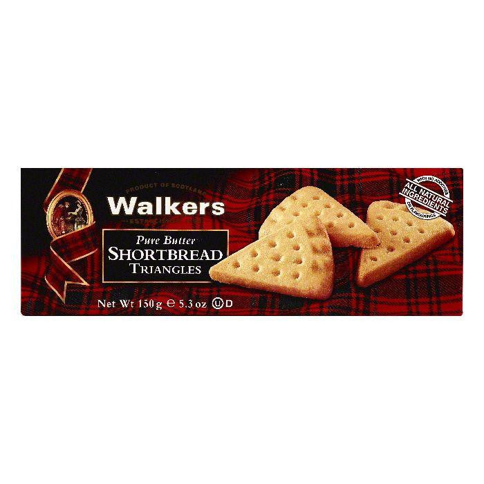Walkers Triangles Pure Butter Shortbread, 5.3 OZ (Pack of 12)