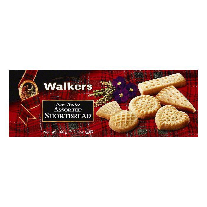 Walkers Assorted Pure Butter Shortbread, 5.6 OZ (Pack of 12)