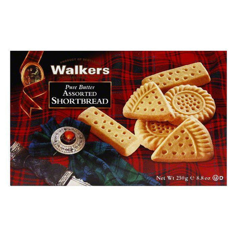 Walkers Assorted Shortbread Selection, 8.8 OZ (Pack of 6)