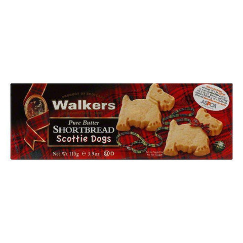 Walkers Shortbread Scotti Dog, 3.9 OZ (Pack of 12)