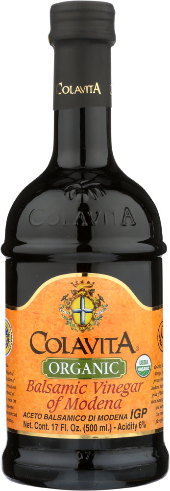 Colavita Organic of Modena Balsamic Vinegar, 17 Oz (Pack of 6)