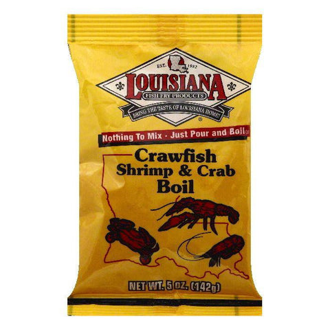 Louisiana Crawfish Shrimp & Crab Boil, 5 OZ (Pack of 24)
