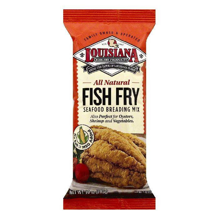 Louisiana Fish Fry Seafood Breading Mix, 10 OZ (Pack of 12)