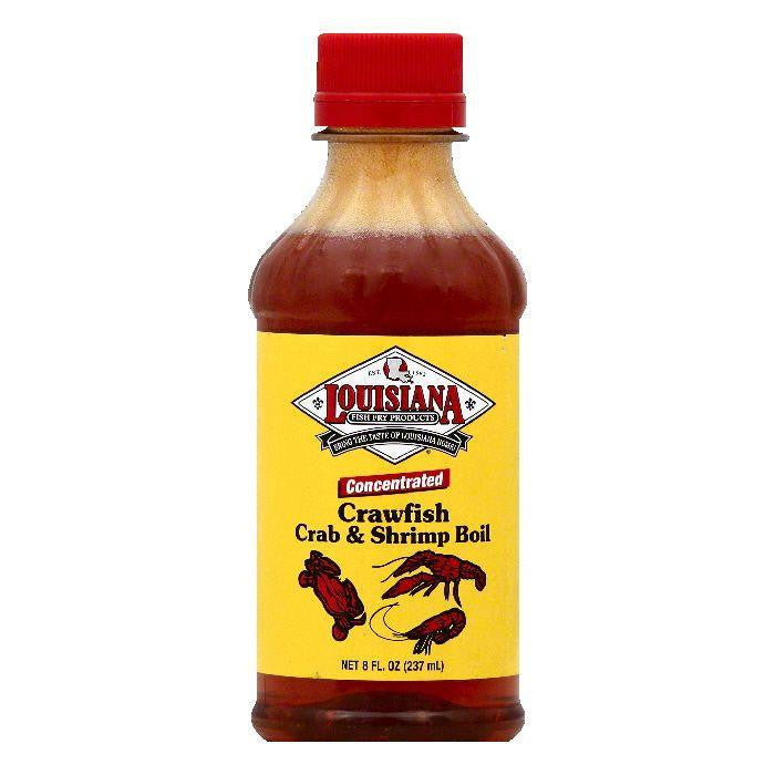 Louisiana Concentrated Crawfish Shrimp & Crab Boil, 8 OZ (Pack of 12)