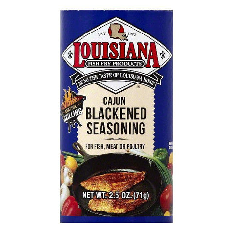 Louisiana Cajun Blackened Seasoning, 2.5 OZ (Pack of 12)
