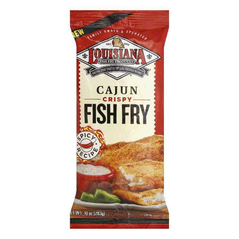 Louisiana Cajun Crispy Fish Fry, 10 Oz (Pack of 12)