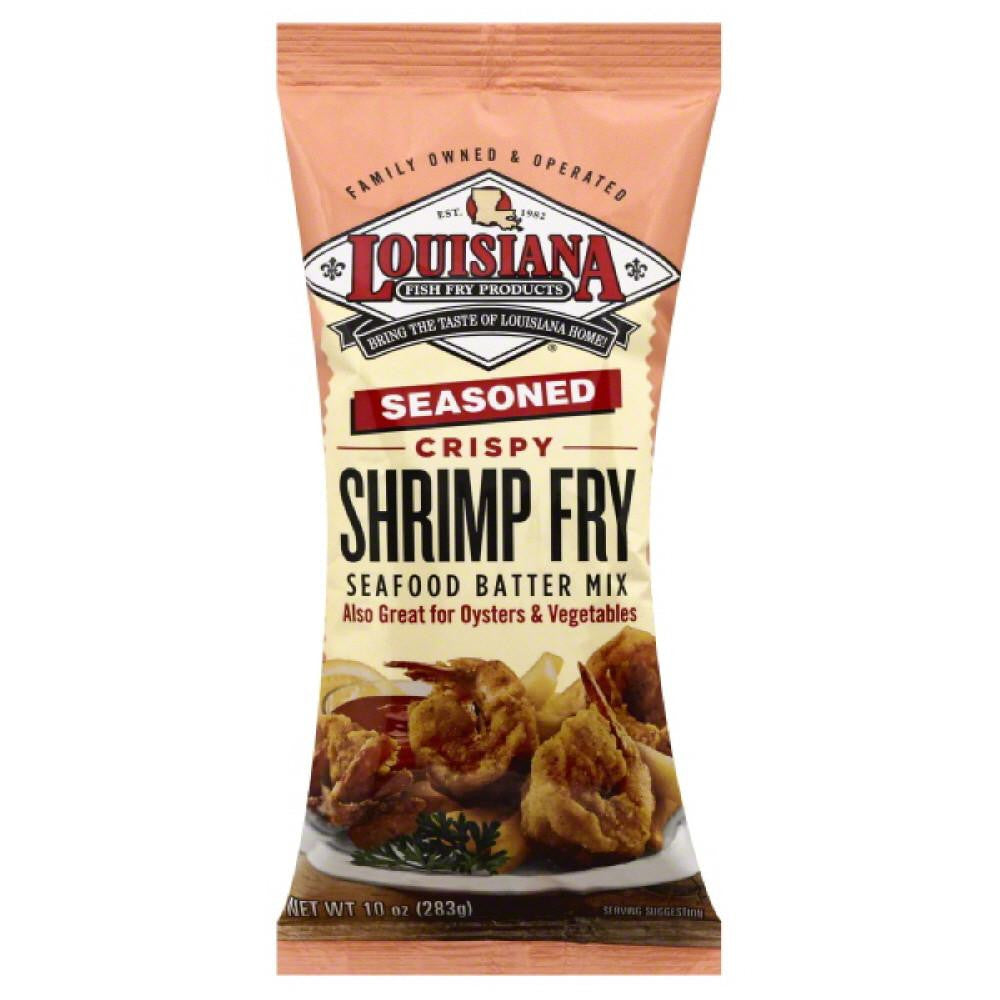 Louisiana Crispy Seasoned Shrimp Fry, 10 Oz (Pack of 12)