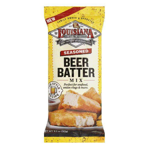 Louisiana Seasoned Beer Batter Mix, 8.5 Oz (Pack of 12)