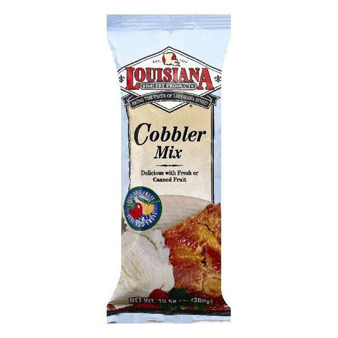 Louisiana Cobbler Mix, 10.58 OZ (Pack of 12)