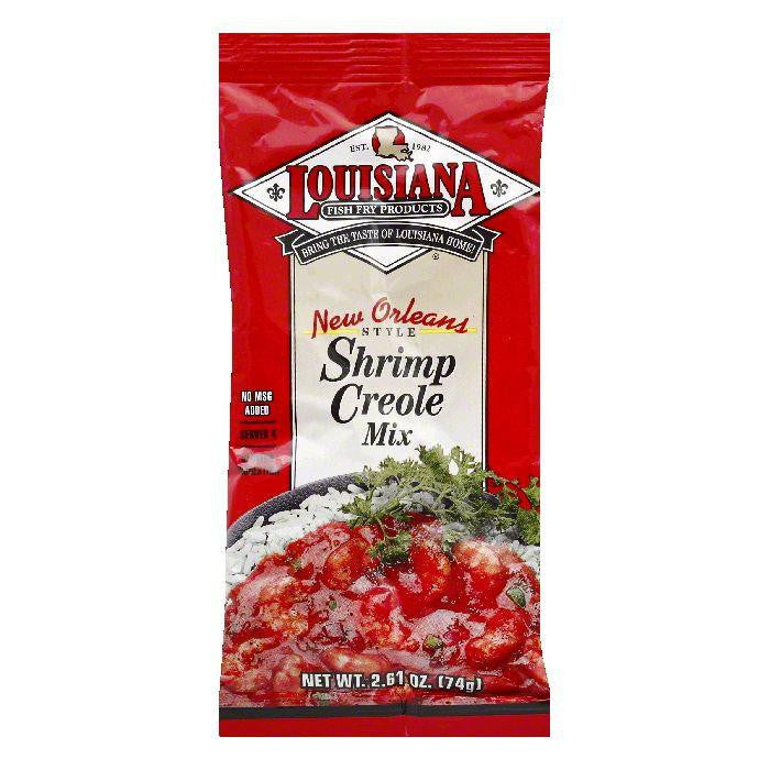Louisiana New Orleans Style Shrimp Creole Mix, 2.61 OZ (Pack of 24)