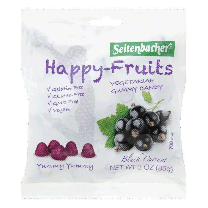 Seitenbacher Black Currant Vegetarian Gummy Candy, 3 OZ (Pack of 10)