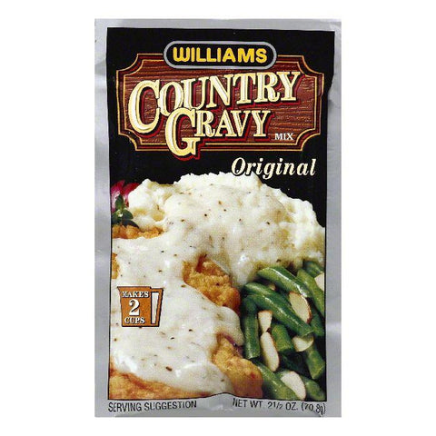 Williams Original Country Gravy Mix, 2.5 OZ (Pack of 12)