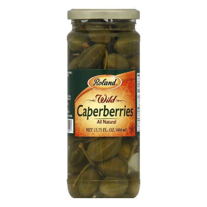 Roland Fine Caper Berries, 15.75 OZ (Pack of 12)