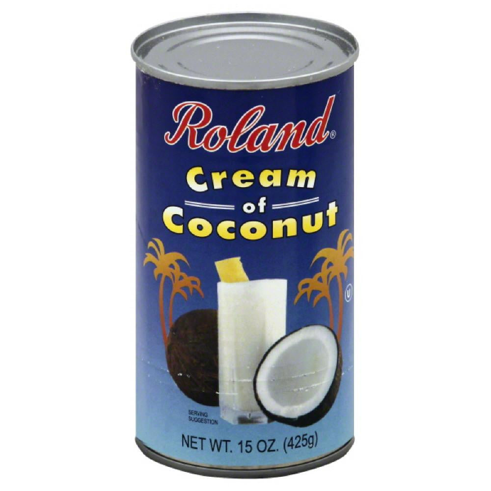 Roland Cream of Coconut, 15 Oz (Pack of 12)