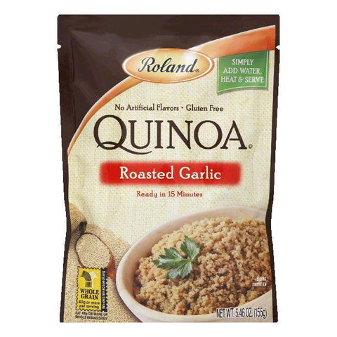 Roland Roasted Garlic Quinoa, 5.46 OZ (Pack of 6)