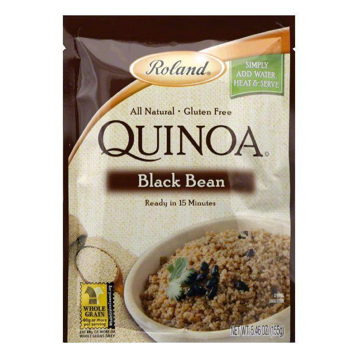 Roland Black Bean Quinoa, 5.46 OZ (Pack of 6)
