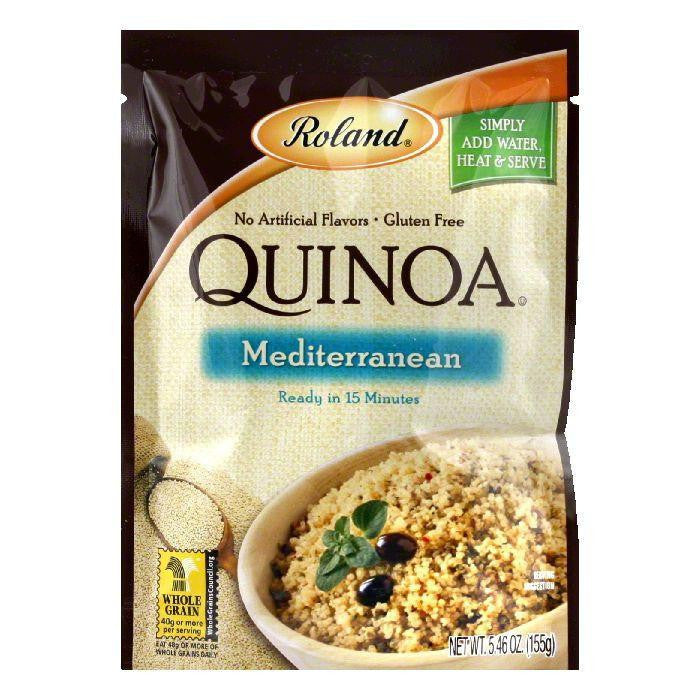 Roland Mediterranean Quinoa, 5.46 OZ (Pack of 6)