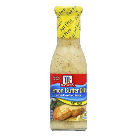 Golden Dipt Fat-Free Lemon Butter Dill Sauce, 8.7 OZ (Pack of 6)